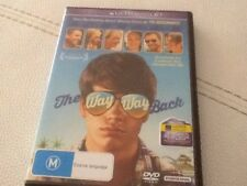 The Way Way Back DVD Region 4 Used But Very Near New Expired UV Code