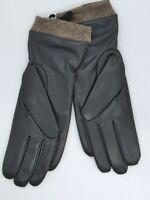 Redess Winter Leather TOUCHSCREEN Gloves For Women, Wool Fleece Lined Sz 8 XL