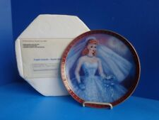 """1990 BARBIE COLLECTOR PLATE """"BRIDE TO BE"""" DANBURY  MINT"""
