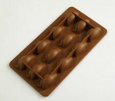 12 Pingüino Chocolate Candy Molde de silicona para hornear Sugarpaste Pastel Dulces Pan