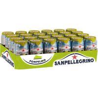 24 Dosen San Pellegrino Pompelmo a 0.33L  inc. 6,00€ EINWEG Pfand Limonade