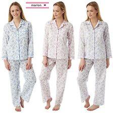 Womens Poly Cotton long Sleeve Pyjamas  PJ'S Plus size 20/22 24/26 28/30