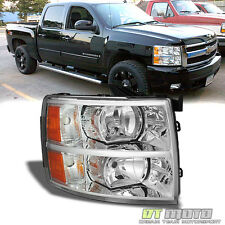 2007-2013 Chevy Silverado 1500 2500 Replacement Headlights Passenger Right Side