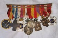 MEDAL GROUP. 8 MEDALS. SPANISH CIVIL WAR, MOROCCO, ITALY, ALFONSO XIII AND OTHER