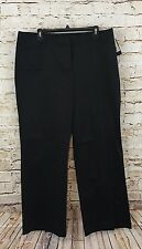 Attention Womens size 16 Pants Black Boot Cut Stretch Contoured Waist New