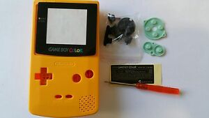 ES-BEST3DCASESSHOP CASE FULL YELLOW GAMEBOY COLOUR NEW
