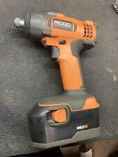 Ridgid R8823 power driver, Impact driver 18V w/ One Max HC Battery