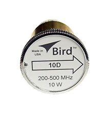 Bird 10D Plug-in Element 0 to 10 watts 200-500 MHz for Bird 43 Wattmeters