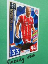 Topps Champions League 17 2018 UCL All Star Robben 18 Match Attax #437