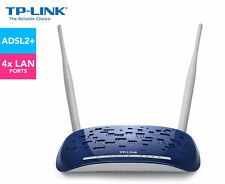 TP-LINK TD-W8960N Wireless N 300Mbps ADSL2 Modem Router 4 Port Switch