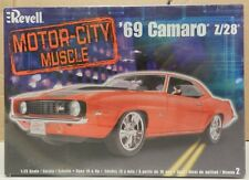 CHEVY 1969 69 CAMARO Z/28 Z28 STOCK RESTO ROD SEALED REVELL MODEL KIT