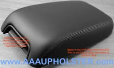 Armrest Center Console Lid Real Leather Cover for Dodge Charger 11-16 Black