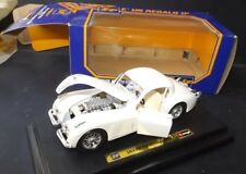 (B)BURAGO JAGUAR XK 120 COUPE'  (1948) SCALA 1/24 DIECAST REF. 1508 IN BOX VGC