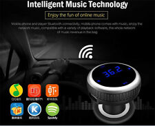 Bluetooth FM Transmitter USB Car Cigar charger Display for iPhone iPod Samsung