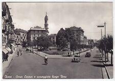 TORINO IVREA 122 AUTO d'EPOCA - CARTELLONE PUBBLICITÀ Cartolina VIAGGIATA 1956