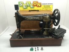 Singer Sewing Machine Year 1898 Serial #14977504 Vtg Made In USA Works! Rare Wow