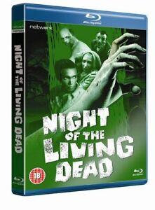 Night Of The Living Dead [Blu-ray] [1968] [Region Free] [DVD][Region 2]