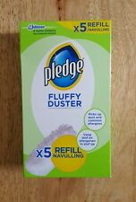 Pledge Fluffy Dusters Refill Cleaning Pads 1x5 Pack-FREE POST UK Stock