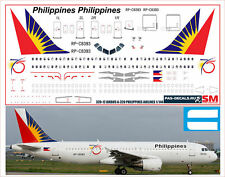 1/144 PAS-DECALS. REVELL. Decal for Airbus A320 PHILIPPINES