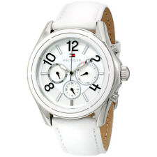 Tommy Hilfiger Women's 1781648 Ali Analog Display Japanese Quartz White Watch