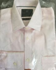 Button Cuff Long Striped Singlepack Formal Shirts for Men