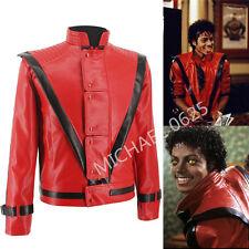 MUST HAVE MICHAEL MTV RED THRILLER JACKET MJ COSTUME FOR SUPER GIFT