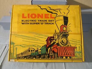 LIONEL #1872 GENERAL 4-4-0 1959 (EMPTY SET BOX) #2528WS