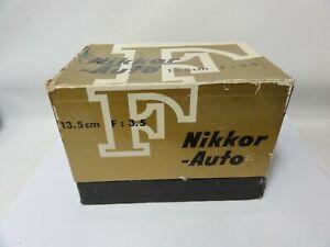 Nikon 135mm f/2.8 NON AI lite Haze in Lens. Parts or Repair AS IS.