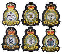 Royal Air Force RAF Stations - 64 OFFICIAL MOD Approved Embroidered Patches