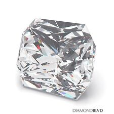 2.41 Carat F/VS1/Ex Cut Square Radiant AGI Earth Mined Diamond 8.05x7.04x4.91mm