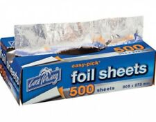 Cast Away Easy Pick Heavy Duty Foil Sheets Large 35mm X 273mm 500s