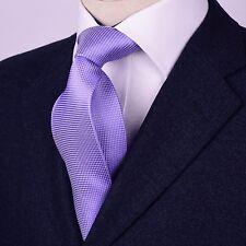 Purple Snakeskin Pattern 8cm Standard Tie Woven Regular Necktie Modern Business