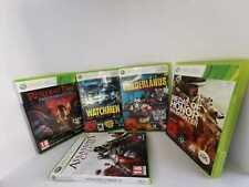 360 Xbox residente Evil Watchmen Borderlands Medal of Honor Assasins Creed paquete