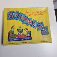 Vintage Anagrams Game of Letters & Words, No. 2002, by Arthur Dritz, Game Night!
