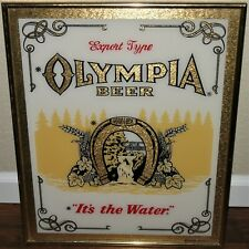 Olympia Beer Tumwater It'S The Water Picture Frame Glass