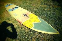 sehr schönes Custome made Board shaped by Dietmar Hampel 258x56cm