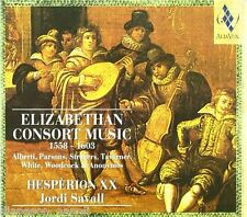 Elizabethan Consort Music 1558-1603 / Savall, Hesperion Xx - CD