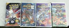 DIGIMON VHS MOVIES LOT OF 4; Pokémon 2000; Digidestined Child; Black Gears