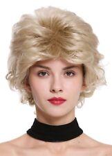 PERRUQUE pour femme court SAUVAGE ondulés style des années 80 blond m-270-22
