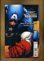 2009 Reborn Captain America #1 NM- Joe Quesada Variant Marvel Comics