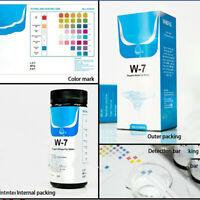 7in1 Aquarium Fish Tank Water Tropical Test Strips Kit Nitrite Nitrate PH KH B2U