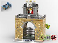 Modular Parkdurchgang - MOC - PDF Bauanleitung - kompatibel mit LEGO Steine