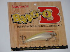 Bagley's Diving Bang O B 3 All Brass Wood Grain Pack 294 Neon Fishing