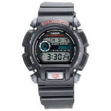 Casio DW9052-1 Mens G-Shock 200m Chronograph Black Resin Tough Sports Watch New