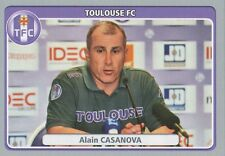 N°454 ALAIN CASANOVA # FC.TOULOUSE TFC STICKER PANINI FOOT 2012