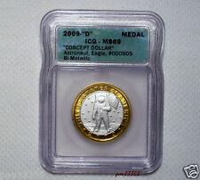 Daniel Carr - 2009 D - Apollo Astronaut Concept Coin-Silver - ICG - PR69 DCAM
