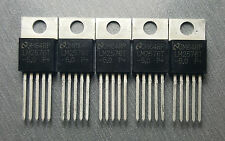 LM2576T-5.0 Buck Switching Regulator 5V 1 Output 3A  TO-220-5 Pack of 5