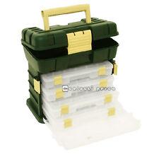 CASSETTA VALIGETTA BOX CAMOR ART 1076 PORTA ACCESSORI 4 SCATOLE PESCA