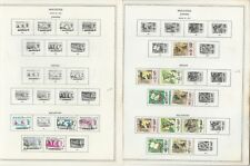 Malaysia States Stamp Collection 1965-1979 on 12 Minkus Global Pages