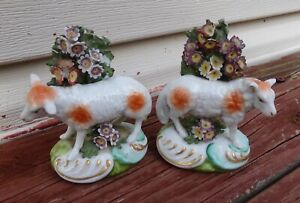 Antique Chelsea Porcelain Sheep Figurines 18th C. Gold Anchor period 1756 –1759